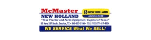 MCMASTER NEW HOLLAND